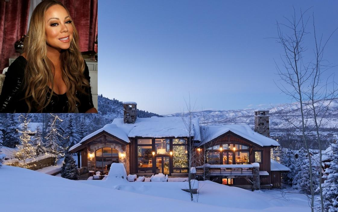 Mariah Carey Celebrates Christmas In 22 Million Airbnb In