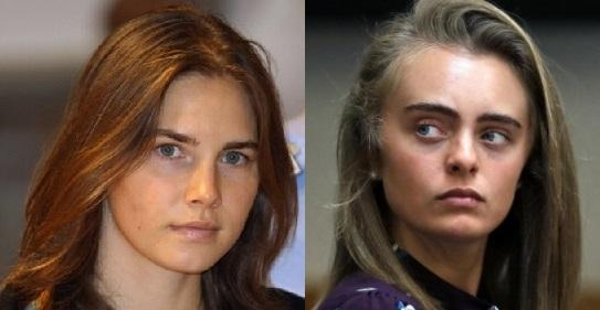 Michelle Carter In Jail >> Amanda Knox Says Michelle Carter Needs Sympathy After