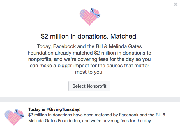 What Is Giving Tuesday Ways To Donate Via Facebook List