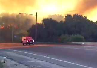 Updates On Lilac Fire >> Lilac Fire: Wildfire Breaks Out In Fallbrook, San Diego