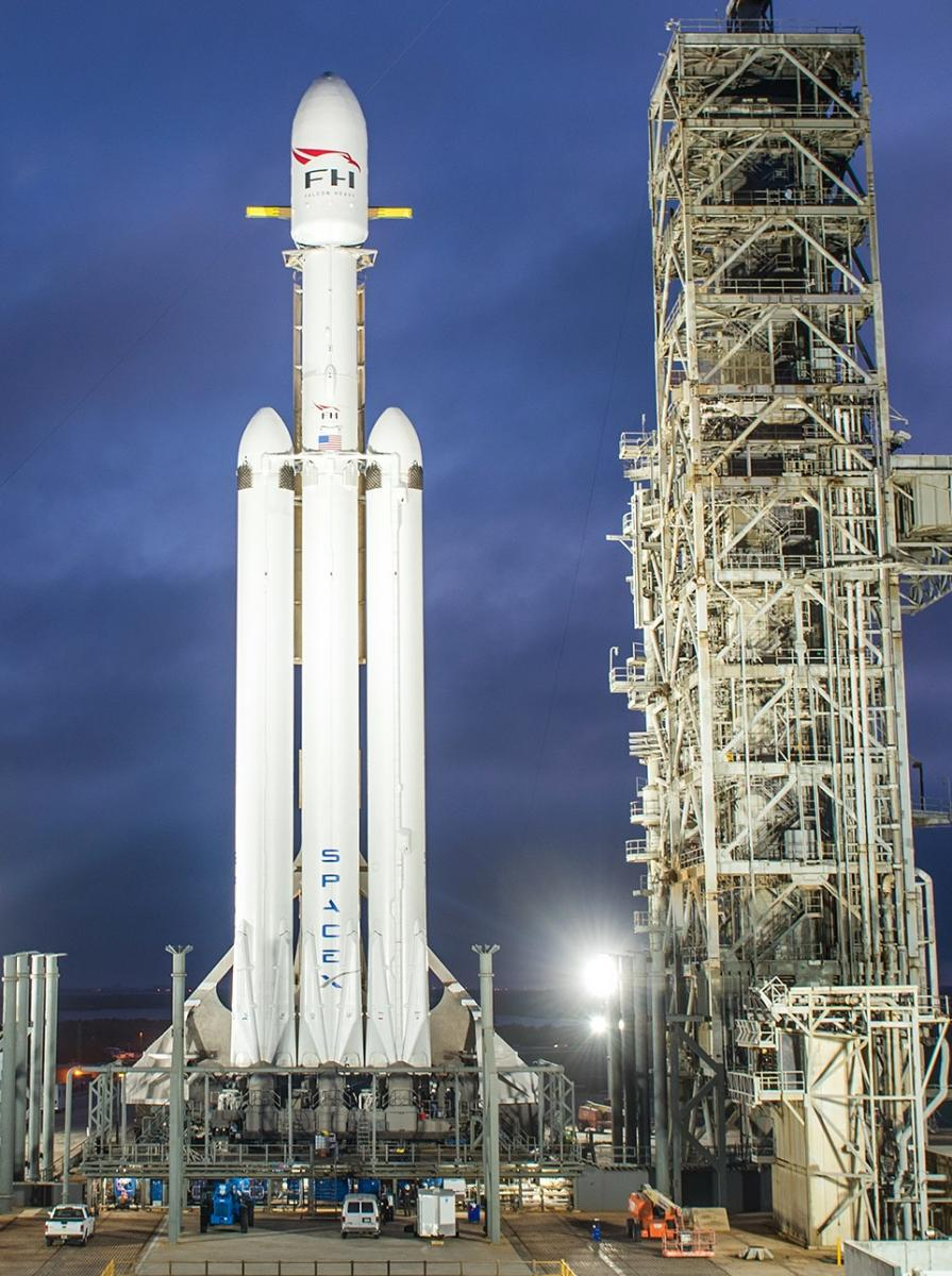 When Will SpaceX Launch Falcon Heavy? Elon Musk Updates ...