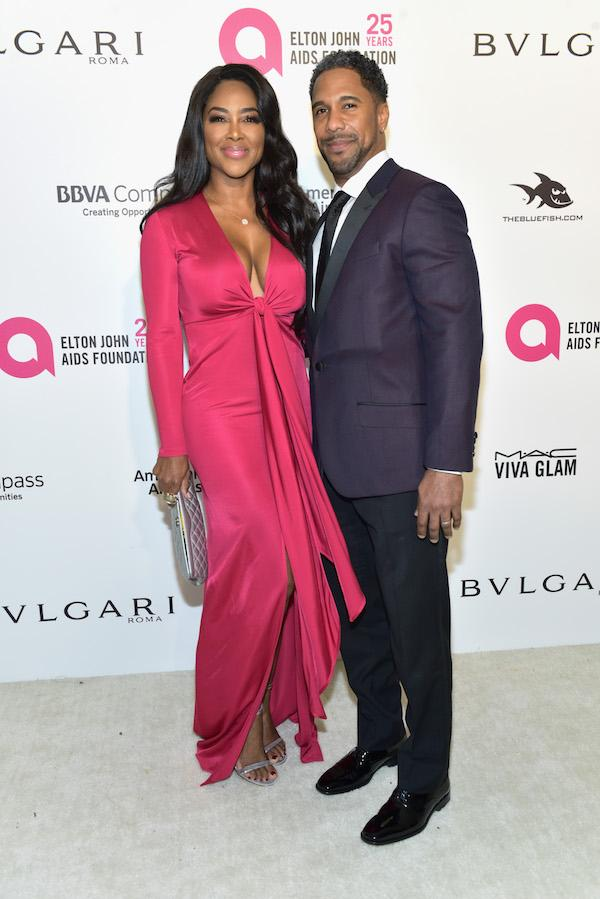Real Housewives Star Kenya Moore Husband Marc Daily