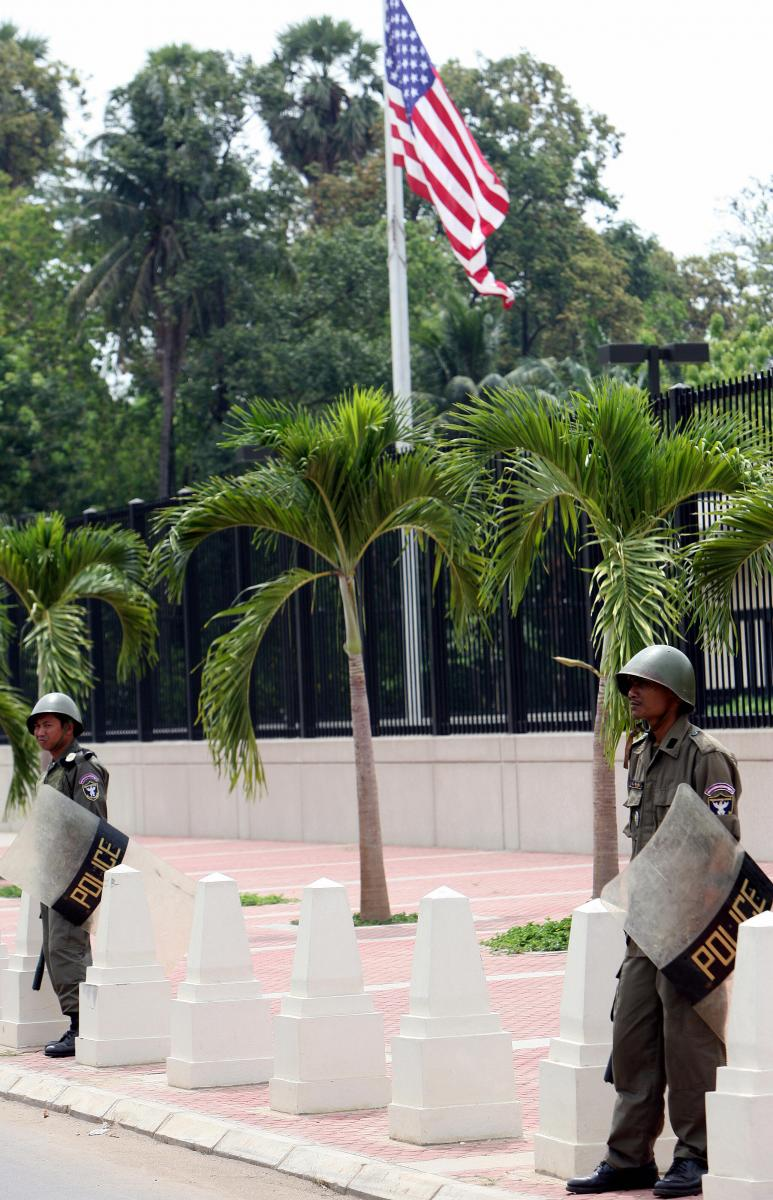 32 us embassy staff fired in cambodia  allegedly for