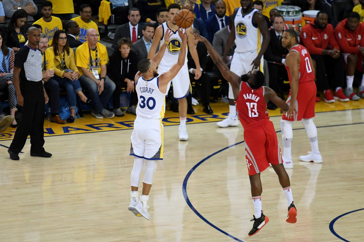 Golden State Warriors vs Houston Rockets. Game #4 ...