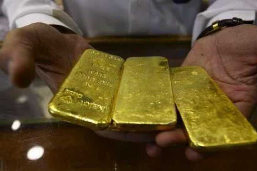Gold bars in Saudi Arabia