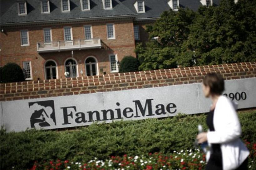 The headquarters of mortgage lender Fannie Mae
