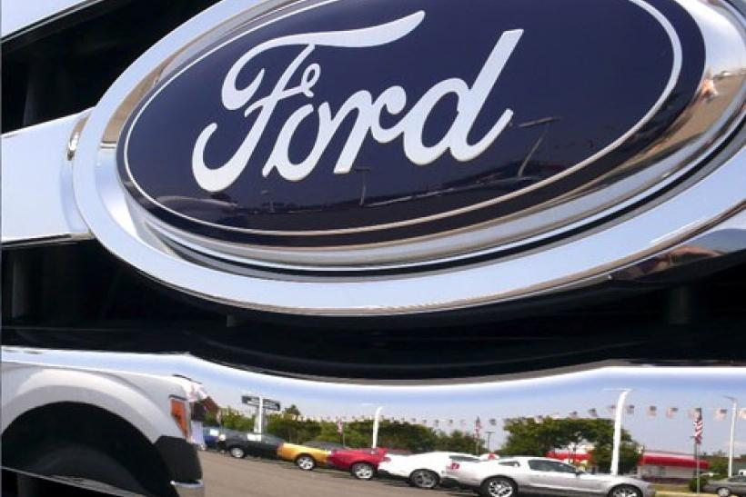 Ford leads Canadian auto sales higher, Toyota lags