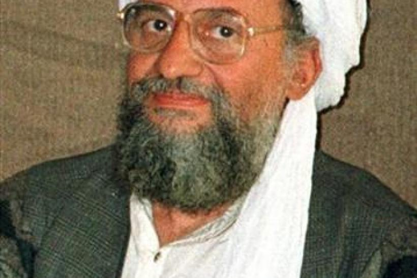 - UNDATED FILE PHOTO - Al Qaeda's top strategist and second-in-command Ayman al-Zawahri is shown in ..