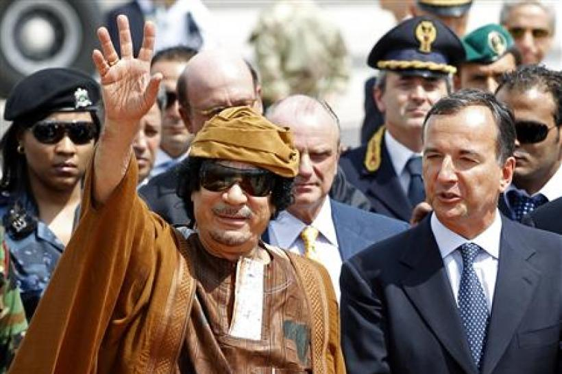 Gaddafi reiterates 'hallucinogenic drugs' blame to justify violence against protesters