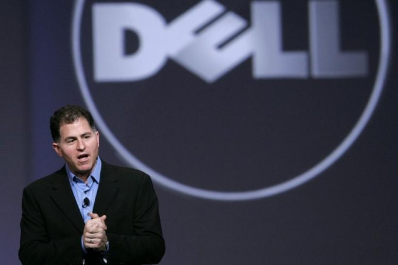 Dell Inc. Chief Executive Officer Michael Dell speaks during his keynote address at Oracle Open World in San Francisco, California October 13, 2009.