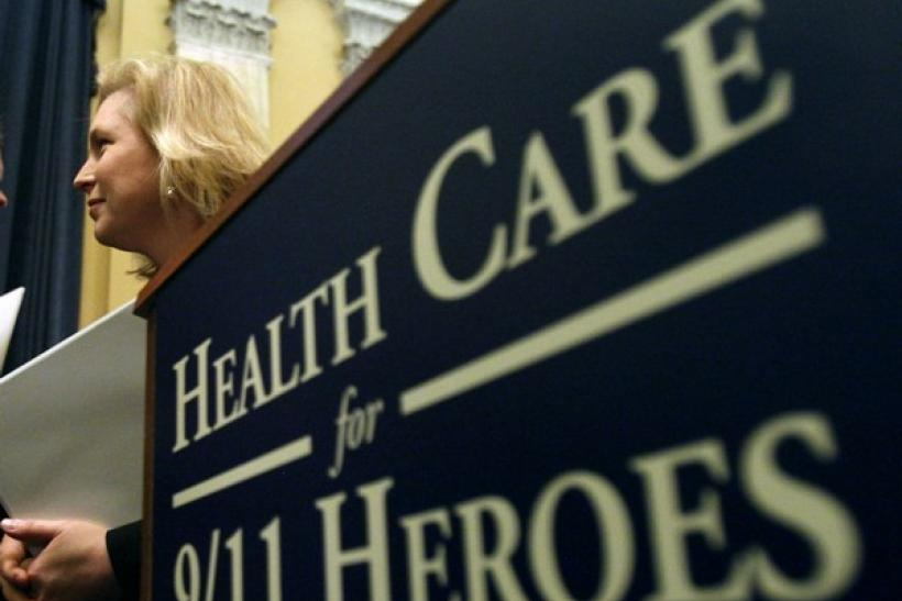 U.S. Senator Kirsten Gillibrand (D-NY) attends an announcement of the James Zadroga 9/11 Health and Compensation Act on Capitol Hill in Washington, June 24, 2009.
