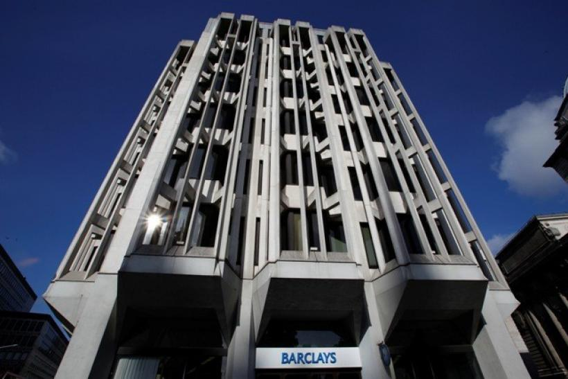 A Barclays Bank branch is seen in central London