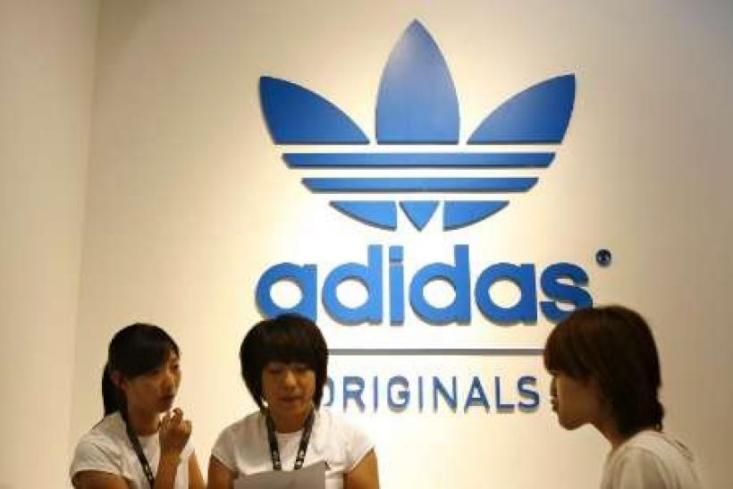 Adidas says to open more 2,500 stores in China by 2015