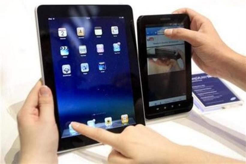 iPad-like devices, smartphones spur NAND flash market to record sales