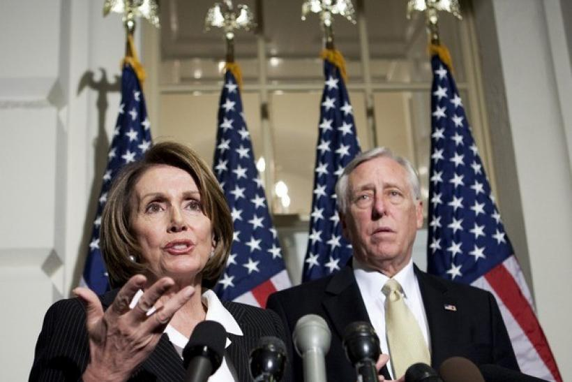 Speaker of the House Nancy Pelosi, D-CA, and House Majority Leader Rep. Steny Hoyer, D-MD.
