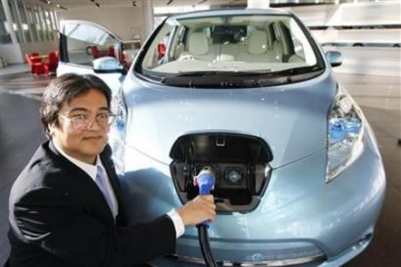 Machines In Japan To Charge Electric Cars