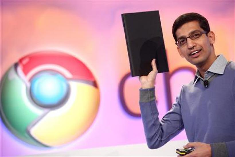 First Chrome OS Laptop Cr-48