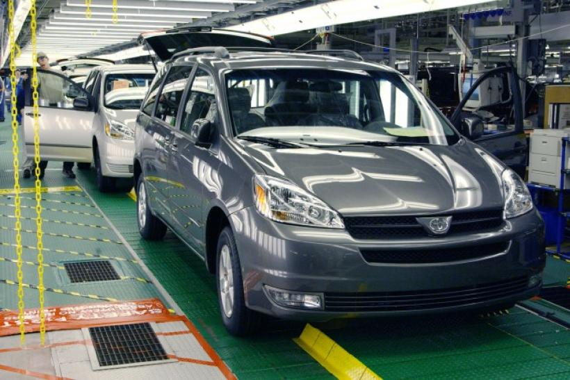 Toyota orders recall of Sienna minivans sold in US market