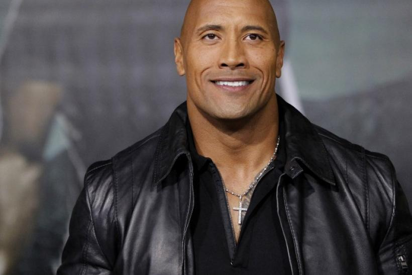 "dwayne""the rock""johnson"