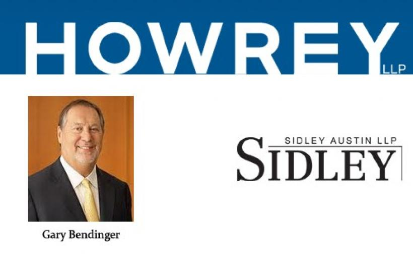 Howrey's litigation practice co-chair Gary Bendinger has left the law firm to join rival Sidley Austin