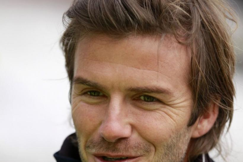 Beckham received the Lifetime Achievement award at the BBC Sports Personality of the Year awards on Sunday.