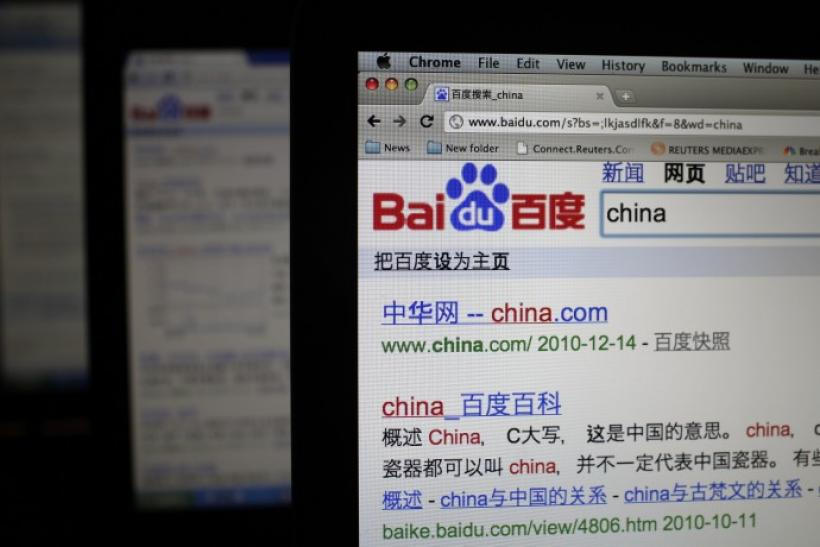 China's search engine of growth