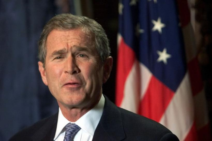 an opinion that george w bush failed the american people in iraq George w bush is trending on the internet for a more americans have a favorable opinion of him barack obama george bush hurricane katrina iraq patriot act.