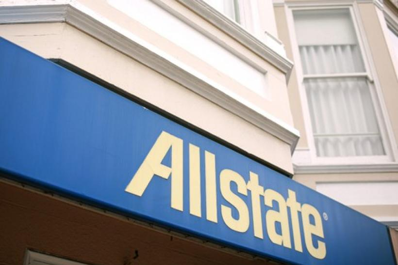 An Allstate insurance office is shown in San Francisco, California
