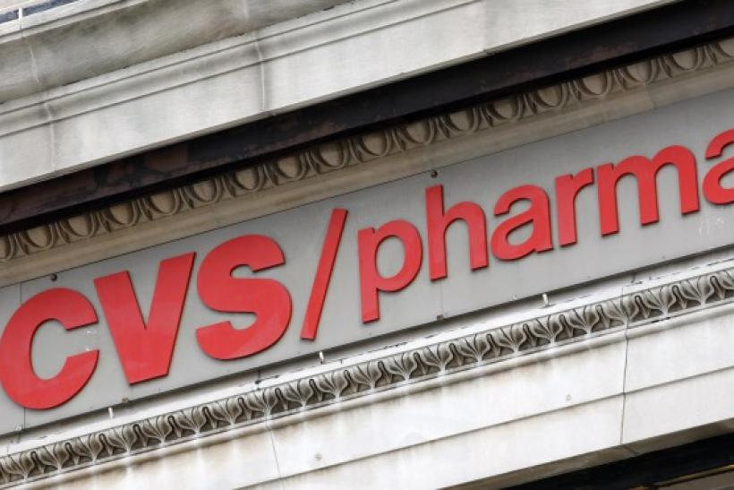 A CVS pharmacy is seen in New York City