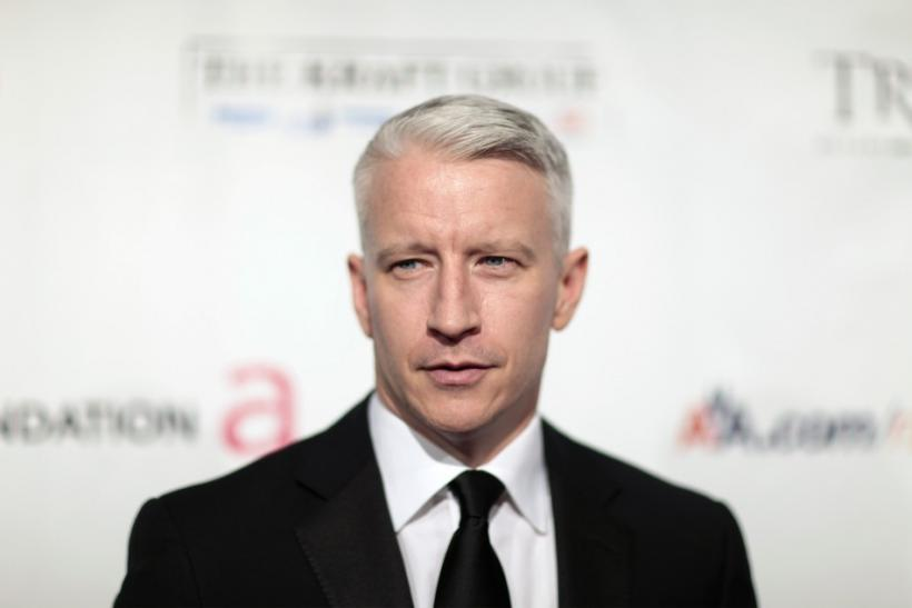 Television personality Anderson Cooper