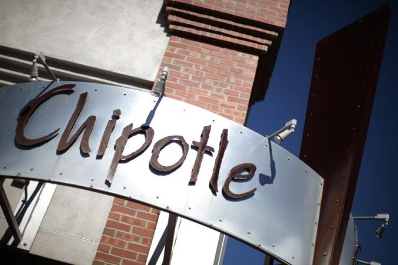 Sign of a Chipotle Mexican Grill restaurant is seen in Redlands