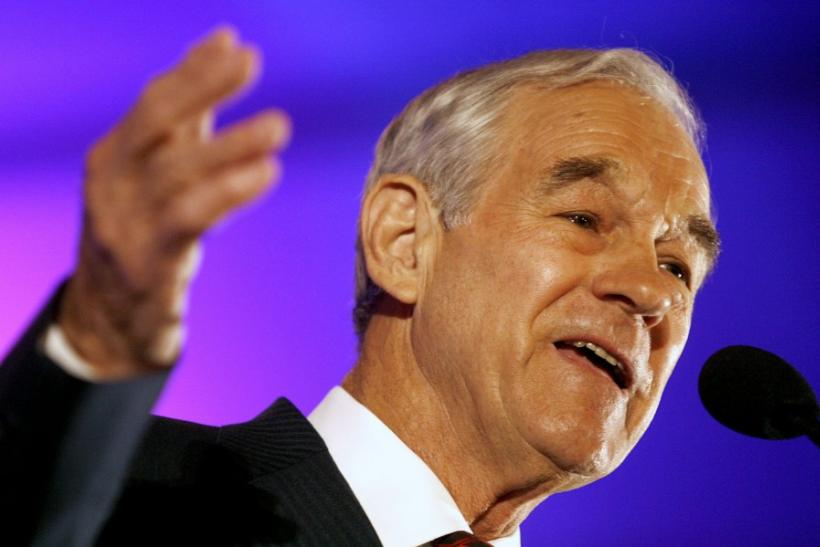 2012 presidential candidate Ron Paul