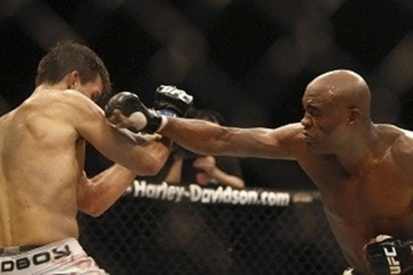 Anderson Silva is a force