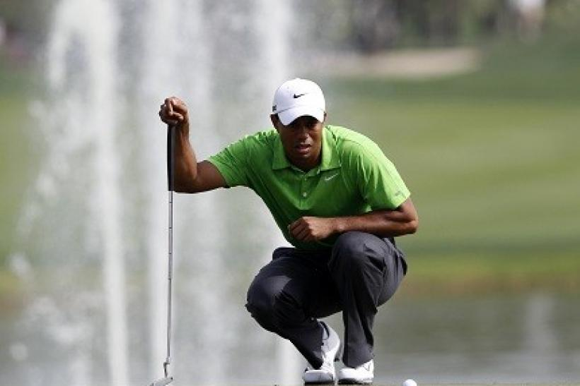Tiger Woods is one of many renowned spitters