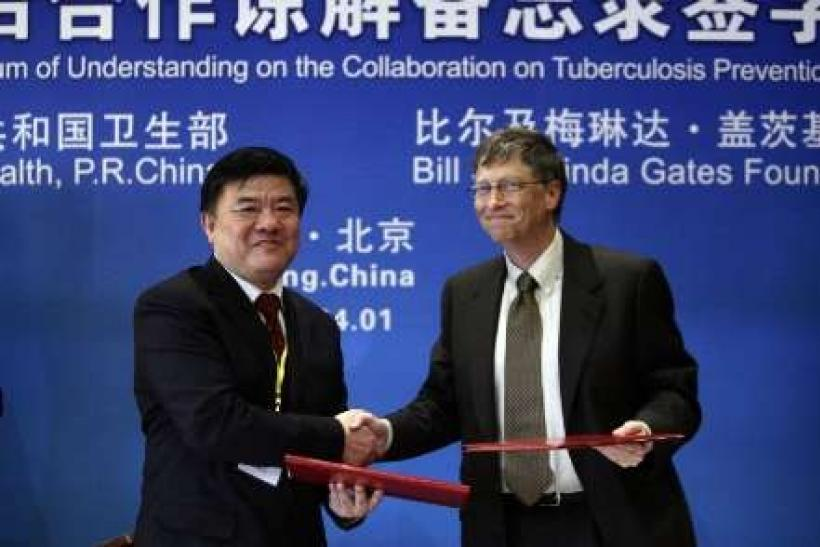 Gates Foundation to improve child vaccines in China