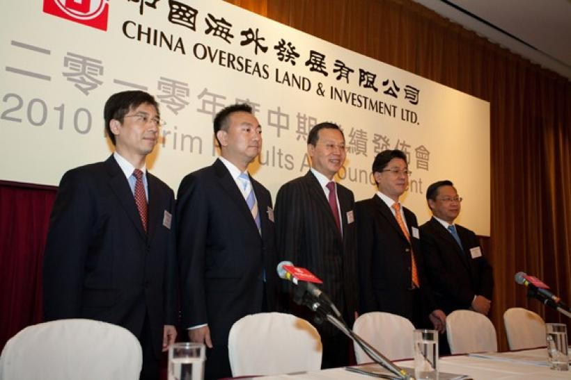China Overseas Land eyes 20 pct net profit growth