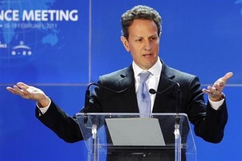 Geithner points to China yuan spillover to others