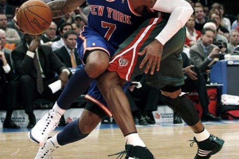 Carmelo Anthony scored 27 points in his Knicks Debut