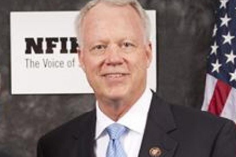 Rep. Paul Broun R-GA is seen in an undated photo from 2010 provided by his official website.