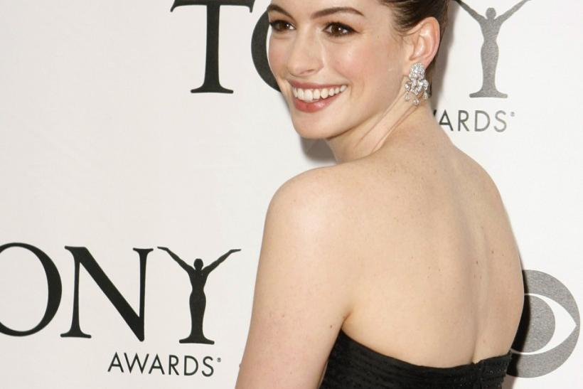 3. Anne Hathaway the actress