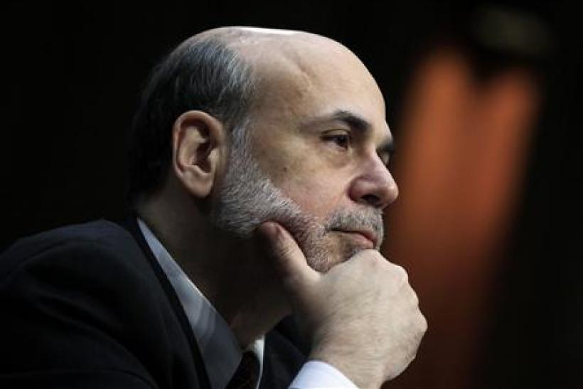 U.S. Federal Reserve Chairman Ben Bernanke testifies before the Senate Banking, Housing and Urban Affairs on the semi-annual Monetary Policy Report to Congress on Capitol Hill in Washington