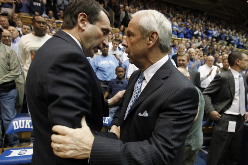 Williams and Coach K faced off for the ACC Title