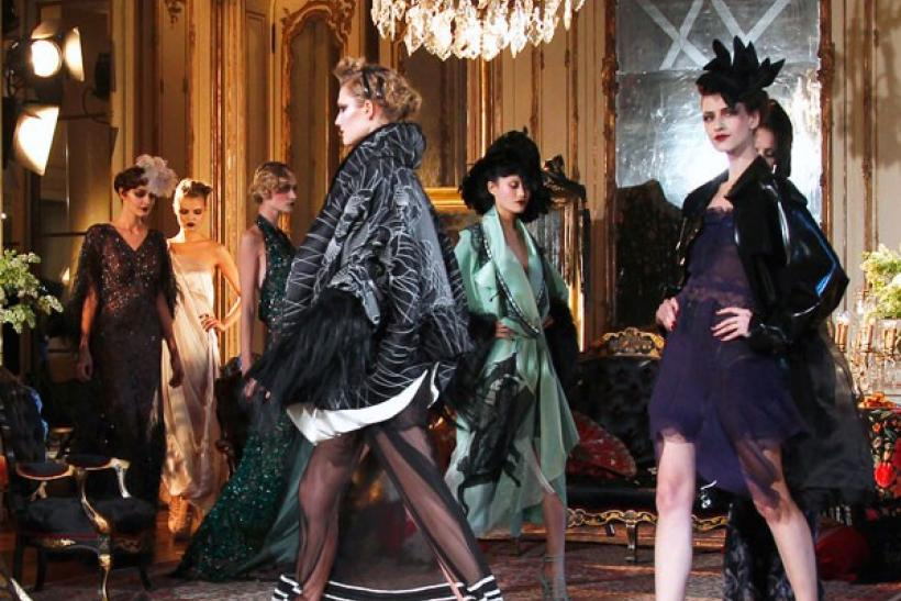 John Galliano fashion show at Paris Fashion Week