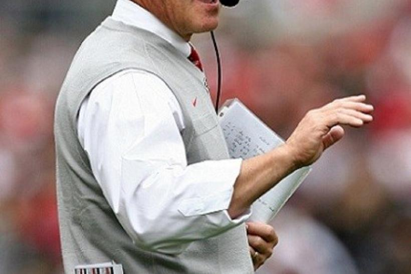 Jim Tressel will miss the first two games of the year