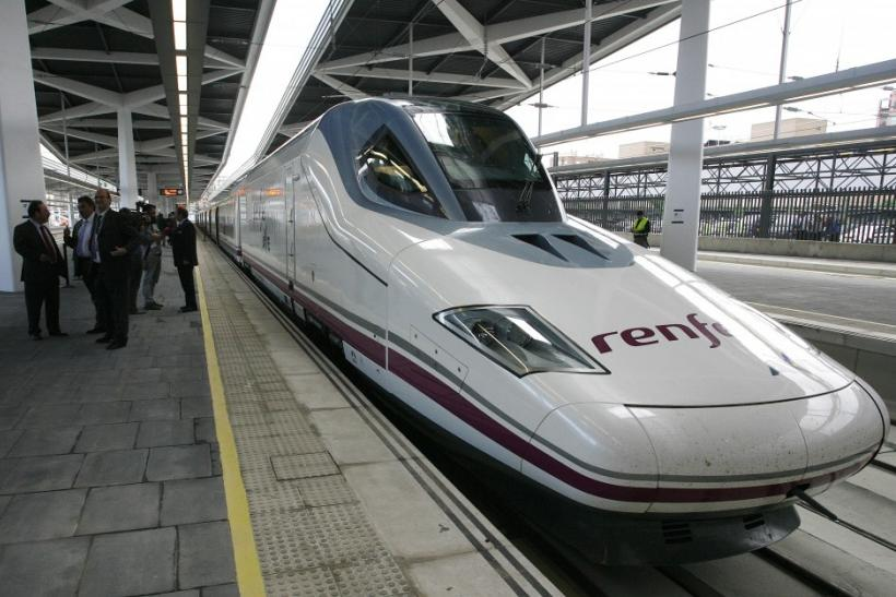 4. High-speed AVE train, Spain