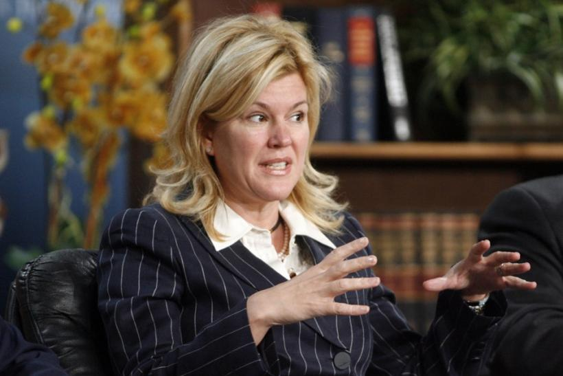 Whitney, founder of Meredith Whitney Advisory Group LLC, speaks at the 2009 Milken Institute Global Conference in Beverly Hills, California