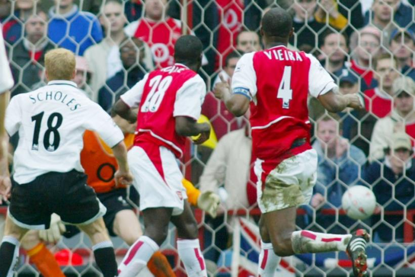 4 - Manchester United 1-0 Arsenal, 2003-04 FA Cup semi-final