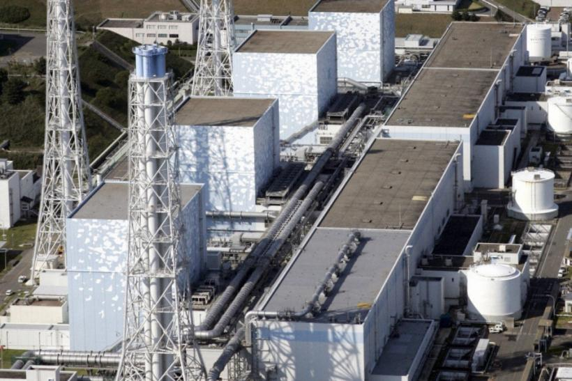An aerial view of Tokyo Electric Power Co.'s Fukushima Daiichi Nuclear Plant in this October 2008 file photo taken in Fukushima Prefecture,