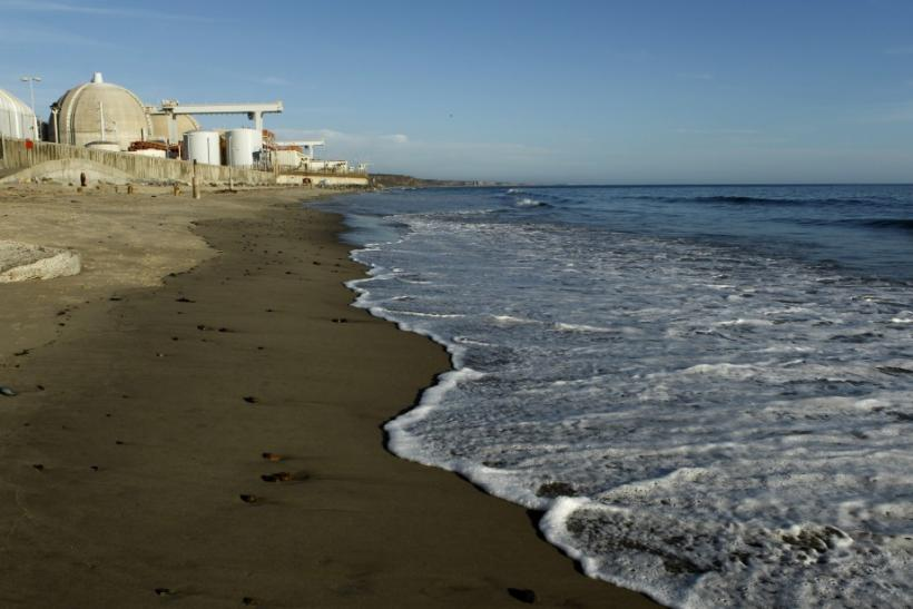 The San Onofre Nuclear Generating plant is seen on the shore of the Pacific Ocean in North San Diego County, California March 14, 2011.