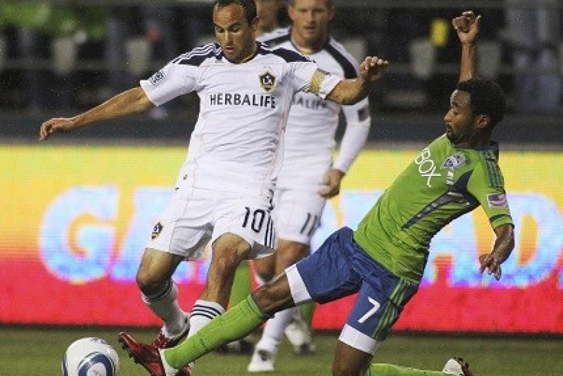 Landon Donovan played 90 minutes for the Galaxy